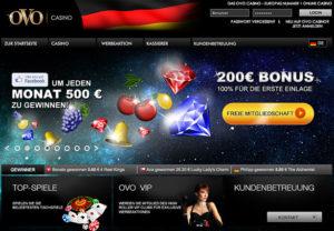 ovo casino account löschen